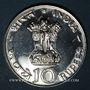Monnaies Inde. République. 10 roupies 1971 (B) Mumbai