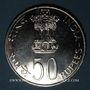Monnaies Inde. République. 50 roupies 1975 (B) Mumbai