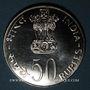 Monnaies Inde. République. 50 roupies 1978 (B) Mumbai