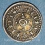Monnaies Inde. Travancore. Rama Varma VI (1062-1101ME = 1885-1924). 2 chuckrams nd. (1901)
