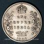 Monnaies Indes Anglaises. Edouard VII (1901-1910). Roupie 1904 (C). Calcutta