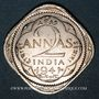 Monnaies Indes Anglaises. Georges VI (1936-1952). 2 annas 1941 (b). Bombay