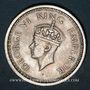 Monnaies Indes Anglaises. Georges VI (1936-1952). Roupie 1945 (B), petit 5, Bombay