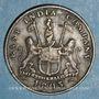 Monnaies Indes anglaises. Présidence de Madras. 5 cash 1803
