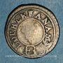 Monnaies Indes anglaises. Présidence de Madras. Double fanam, n.d. (1808)