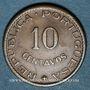 Monnaies Indes portugaises. 10 centavos 1958
