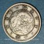 Monnaies Japon. Mutsuhito (Meiji Tenno) (1867-1912). 10 sen an 3  (1870)
