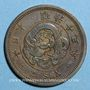 Monnaies Japon. Mutsuhito (Meiji Tenno) (1867-1912). 2 sen an 13  (= 1880)