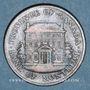 Monnaies Lower Canada  (Bas-Canada = Québec). Banque de Montréal. 1/2 penny 1844