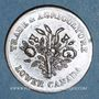 Monnaies Lower Canada  (Bas-Canada = Québec). Banque du Peuple. 1 sou (1835)