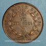 Monnaies Malaisie. Borneo britannique. 1 cent 1885 H