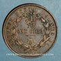 Monnaies Malaisie. Borneo britannique. 1 cent 1889 H