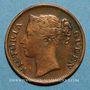 Monnaies Malaisie. Etablissements des détroits (Straits Settlements). Victoria (1837-1901). 1/2 cent 1862