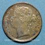 Monnaies Malaisie. Etablissements des détroits (Straits Settlements). Victoria (1837-1901). 10 cents 1891