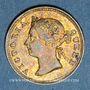 Monnaies Malaisie. Etablissements des détroits (Straits Settlements). Victoria (1837-1901). 5 cents 1895