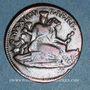 Monnaies Mexique. 1ère République. 1/8 real 1859. Potosi