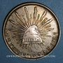 Monnaies Mexique. 2e République. 1 peso 1899 M°. Mexico