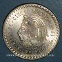 Monnaies Mexique. 2e République. 5 pesos 1947