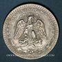 Monnaies Mexique. 2e République. 50 centavos 1944