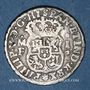 Monnaies Mexique. Philippe V (1700-1746). 1 real  1741MF. Mexico