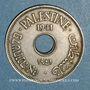 Monnaies Palestine. Administration britannique. 10 mils 1941