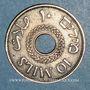 Monnaies Palestine. Administration britannique. 10 mils 1942