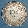Monnaies Palestine. Administration britannique. 100 mils 1927
