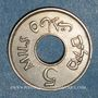 Monnaies Palestine. Administration britannique. 5 mils 1934