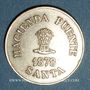 Monnaies Pérou. Hacienda Puente Santa. 10 centavos 1878