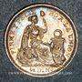Monnaies Pérou. République. 1/2 dinero 1912 F.G.