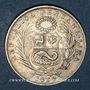 Monnaies Pérou. République. 1/2 sol 19129 LIMA GM