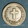 Monnaies République Dominicaine. 2 1/2 centavos 1877