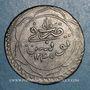 Monnaies Tunisie. Mahmoud II (1223-1255H = 1808-1839). 8 kharoubs 1245H