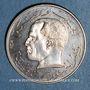Monnaies Tunisie. République. 1/2 dinar 1968. Essai