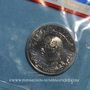Monnaies Tunisie. République. 1/2 dinar 1976. Essai
