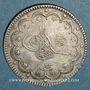 Monnaies Turquie.  Abdoul Hamid II (1293-1327H = 1876-1909). 10 qurush 1293H, an 33