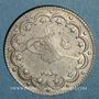 Monnaies Turquie. Mehmet V (1327-1336H = 1909-1918). 10 qurush 1327H, an 6