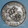 Monnaies Upper Canada (Haut-Canada). Bank of Upper Canada. 1/2 penny token 1852