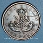 Monnaies Upper Canada (Haut-Canada). Bank of Upper Canada. 1 penny token 1850