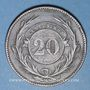 Monnaies Uruguay. 20 centesimos 1857D. Lyon