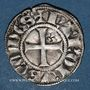 Monnaies Anjou. Comté d'Anjou. Charles III (1290-1325). Denier