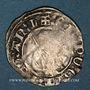 Monnaies Aquitaine. Edouard IV le Prince Noir (1362-1372). Esterlin. Limoges, 2e émission