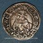 Monnaies Aquitaine. Edouard IV le Prince Noir (1362-1372). Hardi. Bordeaux