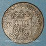 Monnaies Ardennes. Princ. d'Arches & Charleville. Charles I de Gonzague (1601-37). Liard 1607. Charleville