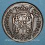 Monnaies Ardennes. Princ. d'Arches & Charleville. Charles I de Gonzague (1601-37). Liard au buste large 1610