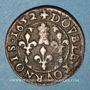 Monnaies Ardennes. Princ. de Sedan. Frédéric-Maurice de la Tour d'Auvergne (1623-1642). Double tournois 1652
