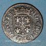 Monnaies Ardennes. Principauté d'Arches & Charleville. Charles I de Gonzague (1601-37). Double tournois 1610