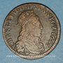 Monnaies Ardennes. Principauté d'Arches & Charleville. Charles II de Gonzague (1637-59). Liard 1656
