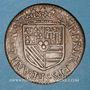 Monnaies Ardennes. Principauté de Sedan. Henri de la Tour d'Auvergne (1594-1623). Double liard 1614. Raucourt