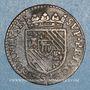Monnaies Ardennes. Principauté de Sedan. Henri de la Tour d'Auvergne (1594-1623). Double liard 1614. Sedan